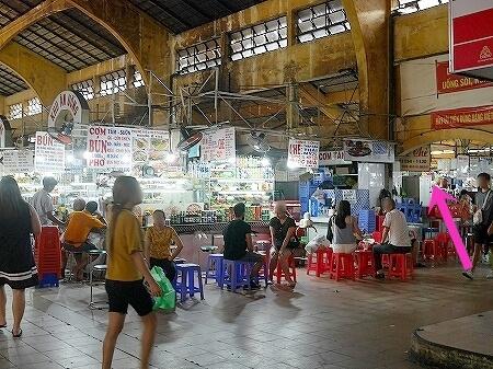 ベトナム ホーチミン ベンタイン市場 ベーチェー Bé chè プリン