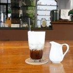 ベトナム ホーチミン The Workshop Coffee おしゃれカフェ おすすめ アイスカフェラテ