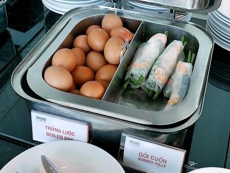 プライオリティパス ホーチミン空港 オーキッドラウンジ タンソンニャット国際空港 食べ物 生春巻き