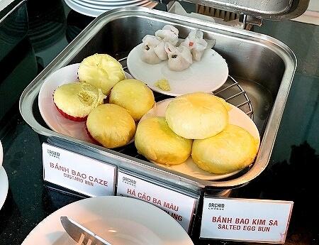 プライオリティパス ホーチミン空港 オーキッドラウンジ タンソンニャット国際空港 食べ物