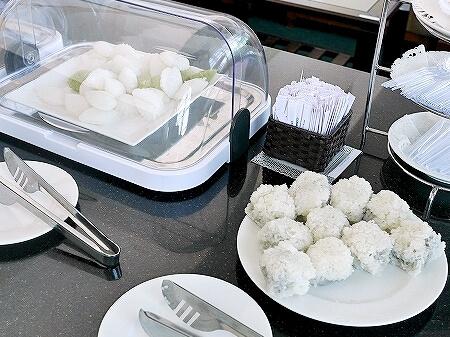 プライオリティパス ホーチミン空港 オーキッドラウンジ タンソンニャット国際空港 食べ物 スイーツ