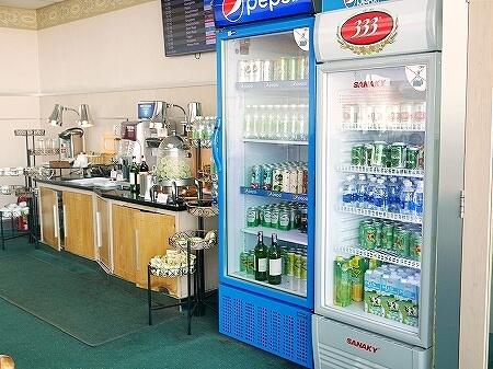 プライオリティパス ホーチミン空港 オーキッドラウンジ タンソンニャット国際空港 飲み物 ドリンク