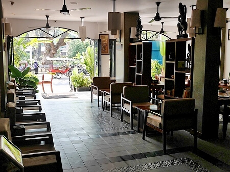 シャドーアンコールレジデンス シャドウアンコールレジデンス シャドー アンコール ホテル  Shadow Angkor Residence おすすめホテル カンボジア シェムリアップ レストラン