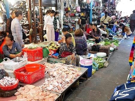 カンボジア オールドマーケット シェムリアップ