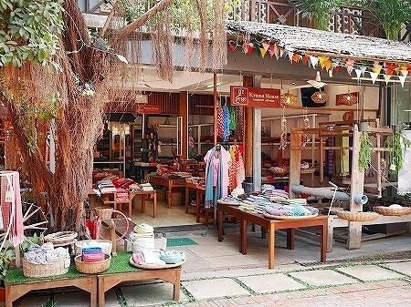 シェムリアップ カンボジア メイド・イン・カンボジア・マーケット お土産 Kroma House クロマーハウス
