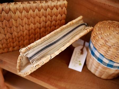 Rokhak シェムリアップ カンボジア メイド・イン・カンボジア・マーケット お土産 ウォーターヒヤシンス かごバッグ