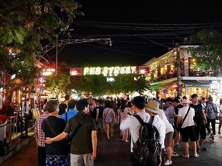 カンボジア シェムリアップ パブストリート