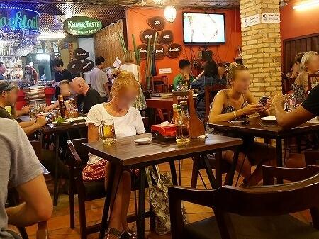 シェムリアップ クメールテイストレストラン Khmer Taste Restaurant カンボジア