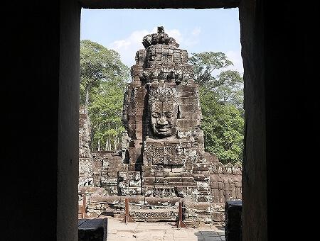 アンコールトム バイヨン カンボジア