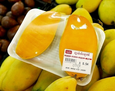 シェムリアップ ラッキースーパーマーケット お土産 カンボジア マンゴー