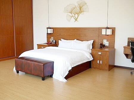 シェムリアップ アンコールランデブーヴィラ プライベートプール付き おすすめホテル Angkor Rendezvous Villa Private Pool Villa 部屋 ベッドルーム