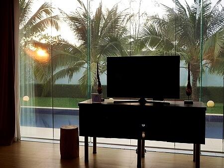 シェムリアップ アンコールランデブーヴィラ プライベートプール おすすめホテル Angkor Rendezvous Villa 夕日