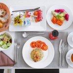 シェムリアップ アンコールランデブーヴィラ プライベートプール おすすめホテル Angkor Rendezvous Villa 部屋 朝食