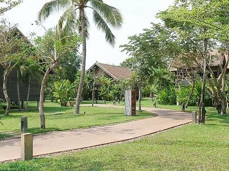 シェムリアップ プーム バイタン リゾート Phum Baitang Resort ホテル 田園 宿泊記 コテージ