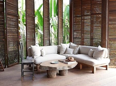 シェムリアップ プーム バイタン リゾート Phum Baitang Resort ホテル フロント 宿泊記