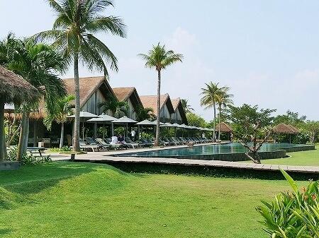 シェムリアップ プーム バイタン リゾート Phum Baitang Resort ホテル 田園 宿泊記 プール
