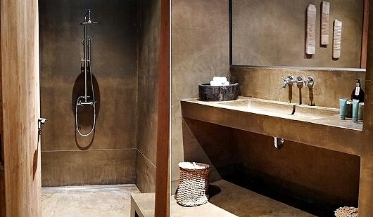 シェムリアップ プーム バイタン リゾート Phum Baitang Resort ホテル 田園 宿泊記 更衣室 シャワー