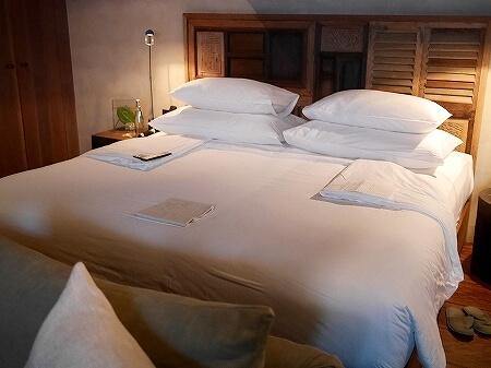 シェムリアップ プーム バイタン リゾート Phum Baitang Resort ホテル 田園 宿泊記 ターンダウン