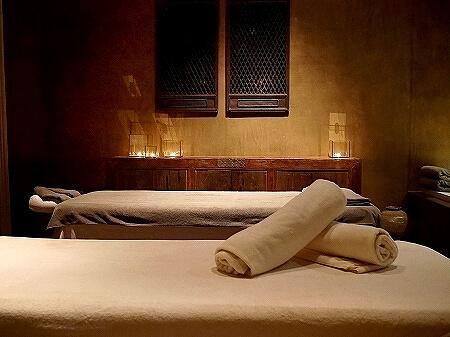 シェムリアップ プーム バイタン リゾート Phum Baitang Resort ホテル 田園 宿泊記 スパ spa マッサージ 個室