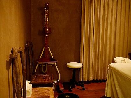 シェムリアップ プーム バイタン リゾート Phum Baitang Resort ホテル 田園 宿泊記 スパ spa マッサージ 個室 シロダーラ