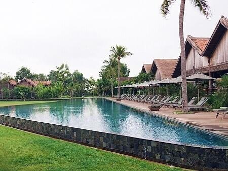 シェムリアップ プーム バイタン リゾート Phum Baitang Resort ホテル 田園 宿泊記 プール BAY PHSAR レストラン 食事