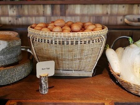 シェムリアップ プーム バイタン リゾート Phum Baitang Resort ホテル 田園 宿泊記 プール BAY PHSAR レストラン 食事 朝食 卵