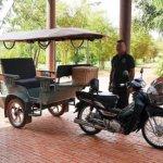 シェムリアップ プーム バイタン リゾート Phum Baitang Resort ホテル 田園 宿泊記 トゥクトゥク 貸し切り