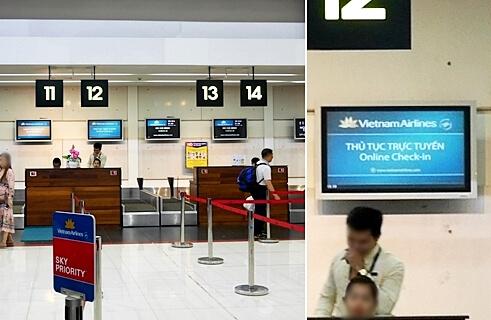 シェムリアップ国際空港 カンボジア チェックイン