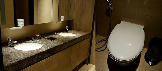 シェムリアップ国際空港 プラザプレミアムラウンジ Plaza Premium Lounge プライオリティパス カンボジア トイレ