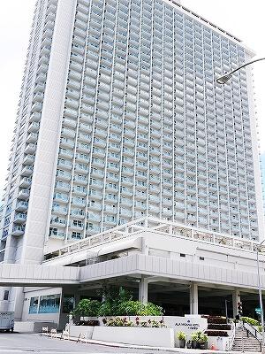 ハワイ ホノルル ワイキキ おすすめホテル アラモアナホテル Ala Moana Hotel 外観