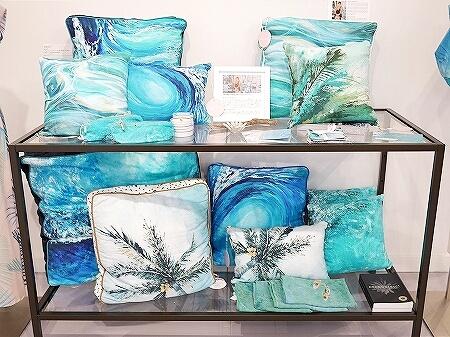 ハワイ lei palm レイパーム アラモアナセンター おすすめ お土産 かわいいお店 リアナ・ウォルフ Leanna Wolff 海の絵