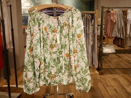 ハワイ アンソロポロジー Anthropologie ショッピング おすすめ かわいいお店 洋服 インテリア ショップ お土産 インターナショナルマーケットプレイス トップス ブラウス