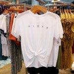 ハワイ スプラッシュ!ハワイ 大人かわいい水着 アラモアナセンター おすすめ ショップ Splash! Hawaii Tシャツ