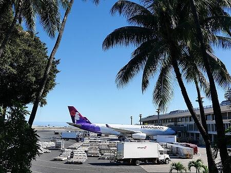 ハワイアン航空搭乗記 ホノルル 羽田 HA855