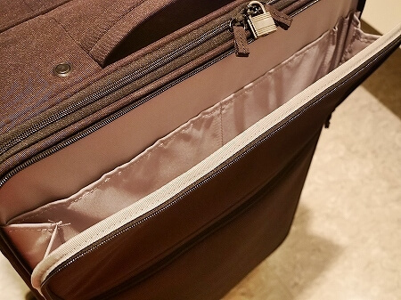 無印良品 半分の厚みで収納できるソフトキャリー L 大 スーツケース キャリーケース 口コミ レポ