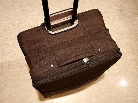 無印良品 半分の厚みで収納できるソフトキャリー L 大 スーツケース キャリーケース 口コミ レポ 厚み