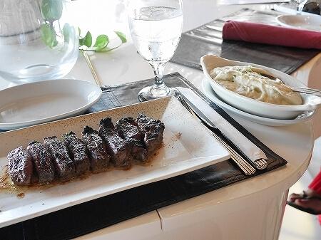 シグネチャープライムステーキ&シーフード The Signature Prime Steak & Seafood ハワイ アラモアナホテル ハッピーアワー リブアイステーキ マッシュポテト