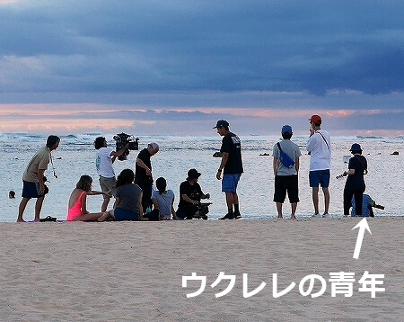 ハワイ アラモアナビーチパーク サンセット アラモアナホテル 最寄りのビーチ 夕日 夕焼け 撮影