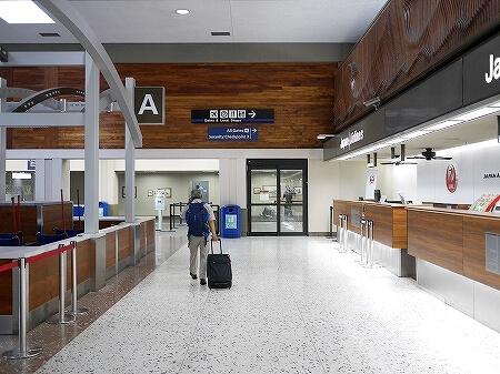 ハワイアン航空 ホノルル空港 チェックイン方法 ゲート 行き方 場所 ターミナル2 流れ