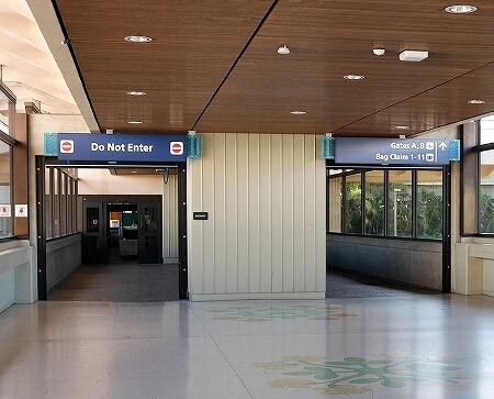 ハワイ ホノルル空港 ハワイアン航空ラウンジ プライオリティパス プルメリアラウンジ 場所 行き方 地図 フロアマップ