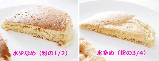 ハワイ パンケーキミックス 作り方 アメリカ 分量 レシピ 計量カップ