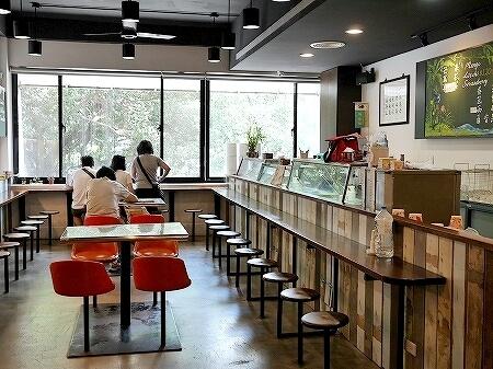 台湾 台北 雪王冰淇淋 アイスクリーム おすすめ 人気店 雪王氷淇淋 店内 席