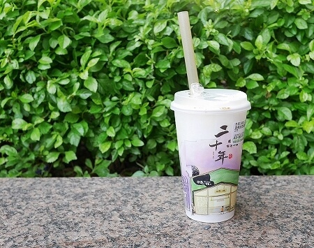 台湾 台北 タピオカミルクティー 喫茶小舖 台北駅 タピオカミルク