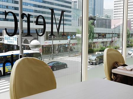 台湾 MeetFresh 鮮芋仙 マロニエゲート銀座店 もちもち 芋園 豆花 タピオカ ミートフレッシュ 眺め 景色
