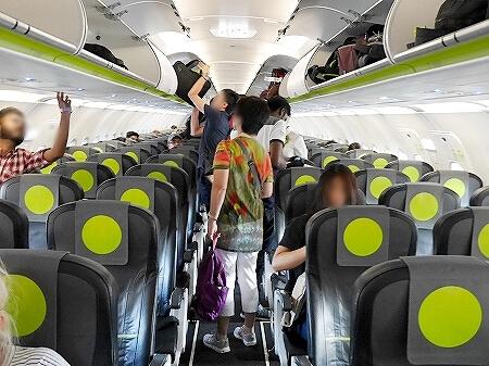S7航空 成田-ウラジオストク S7 6282 座席 機内