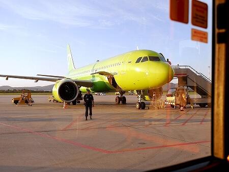 S7航空 成田-ウラジオストク S7 6282 搭乗記