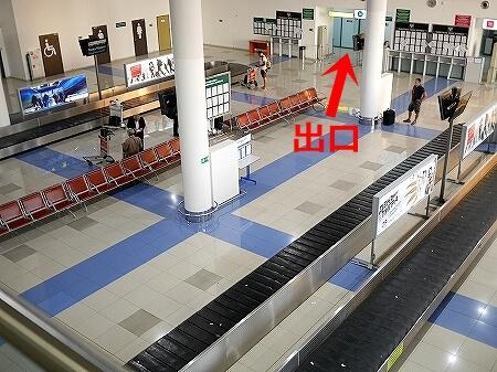 S7航空 成田-ウラジオストク  到着後 入国審査 流れ ターンテーブル 荷物受け取り