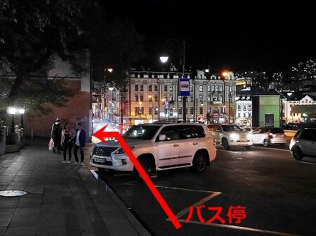 ウラジオストク ベルサイユホテル ヴェルサイユホテル セラヤ・ロシャジ バス停 行き方 107番