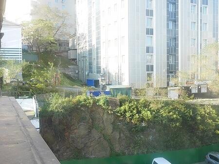 ウラジオストク ベルサイユホテル ヴェルサイユホテル 宿泊記 レビュー 口コミ 部屋 シングルルーム ロシア 景色 眺望
