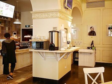 ウラジオストク ベルサイユホテル ヴェルサイユホテル 朝食 レストラン 場所 行き方 ロシア 二ルィダイ スタローバヤ コーヒー